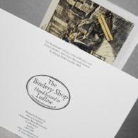 The Bookbinder's Shop (bindery)