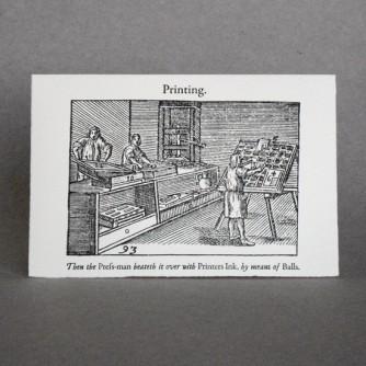 Comenius: printing