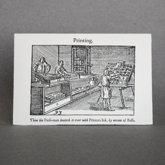 Comenius Series: Printing