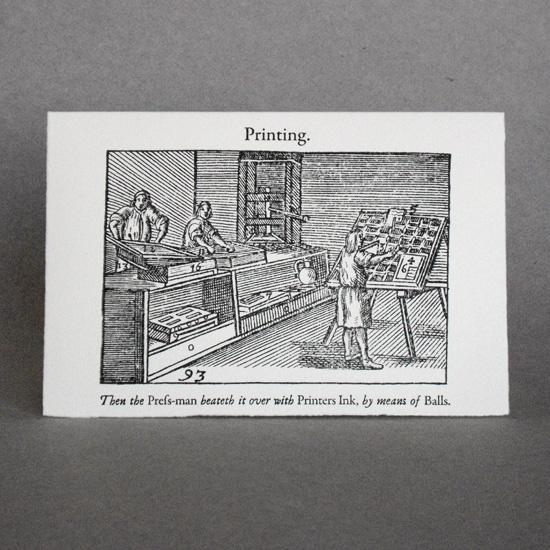 Comenius Series: Printing