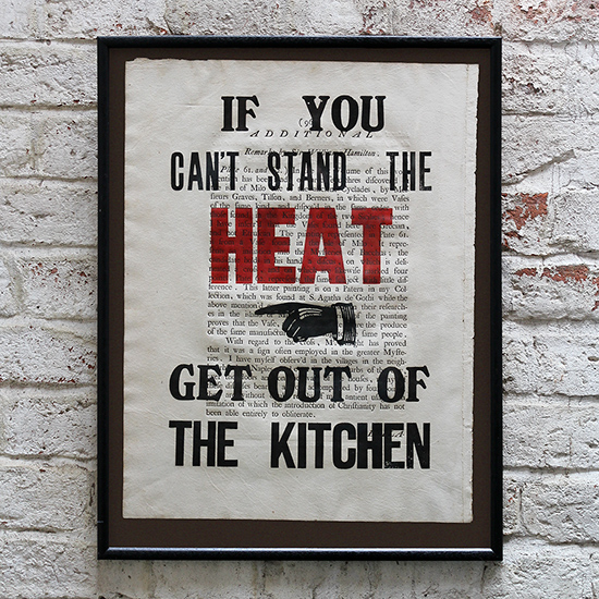 If You Can't Stand the Heat…